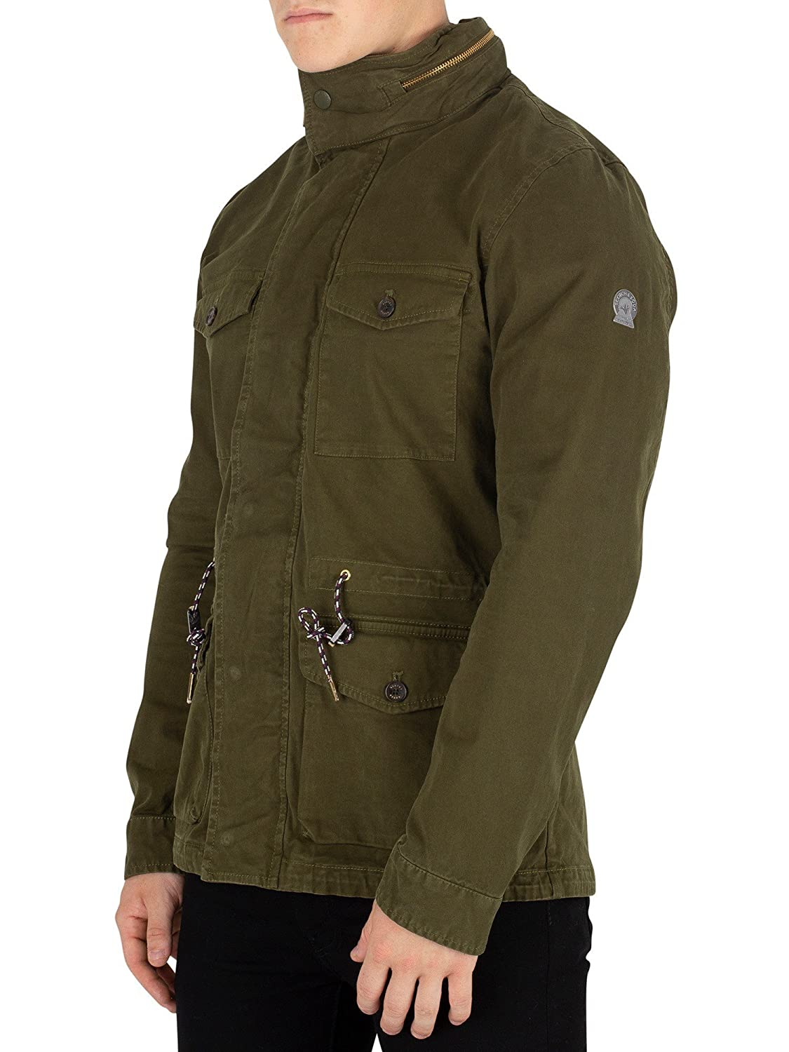 Scotch & Soda Men's Field Jacket, Green