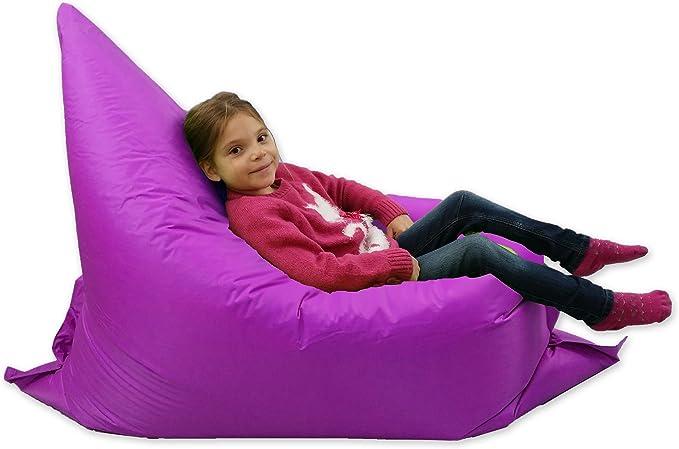 per sedia a sdraio senza riempimento Pouf per adulti e bambini N //A colore: Verde lavabile extra large