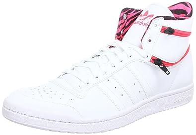 adidas Originals TOP TEN HI SLEEK ZIP W Q23630, Damen Sneaker, Weiß (RUNNING 62aa1eb622