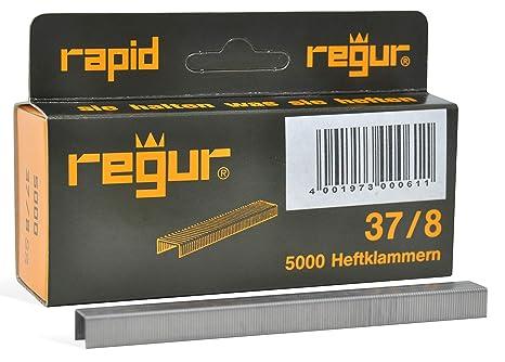 Leder Textilien sowie zum Basteln und Dekorieren REGUR Typ 53 Feindraht-Klammern verzinkt Heftklammern zum Befestigen von Stoffen 1.060 St/ück in der L/änge 53//14 mm