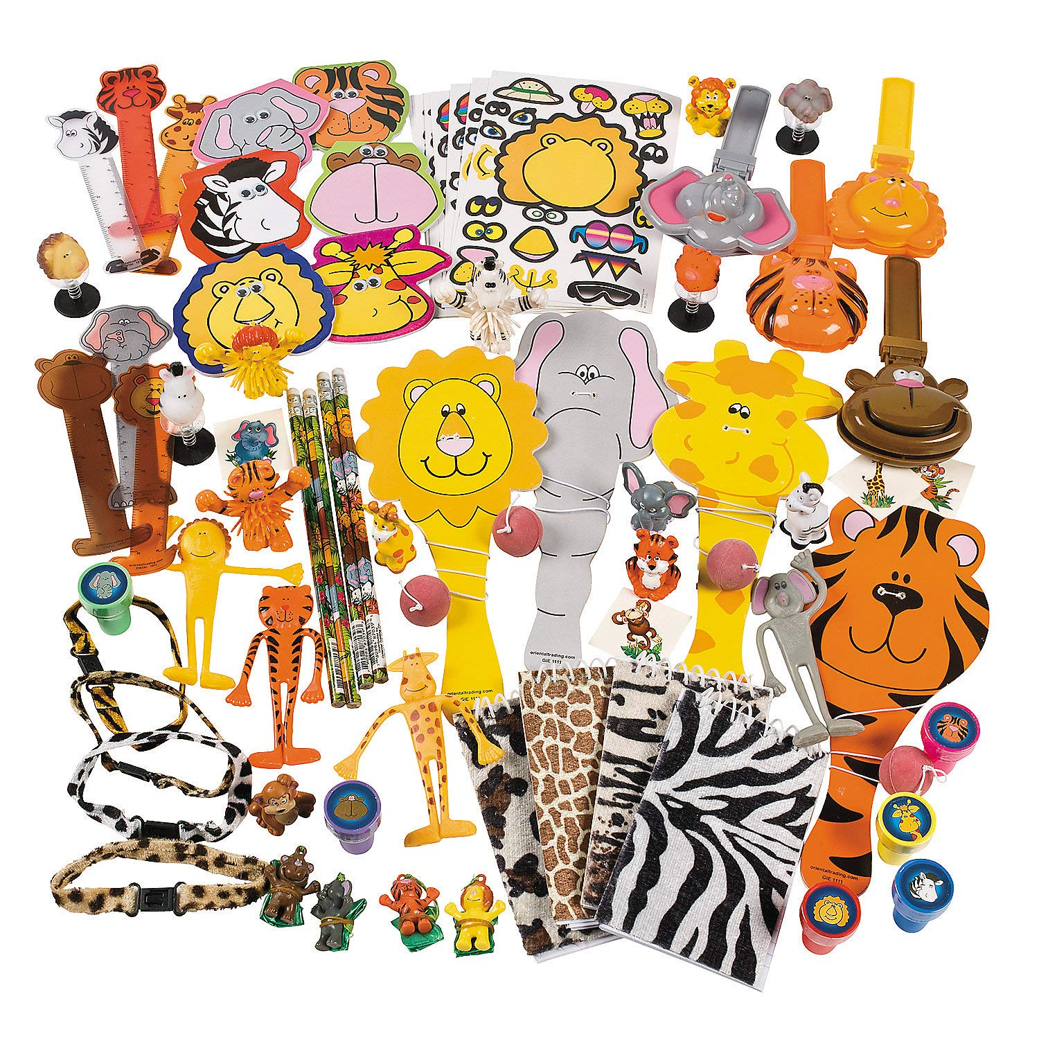 Fun Express Mega Zoo Animal Assortment (250 pc) by Fun Express