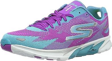 Skechers GO Run 4-2016 - Zapatillas para mujer: Amazon.es: Zapatos y complementos