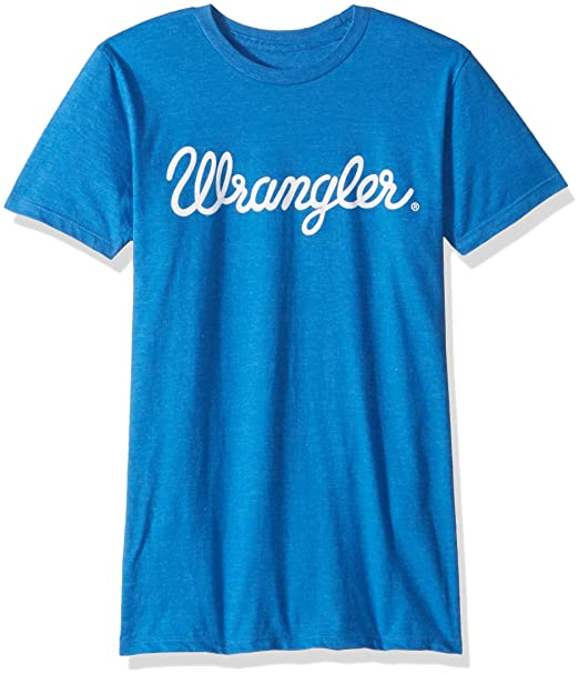 74ee6cf324a Amazon.com  Wrangler Men s Logo Ringer Short Sleeve Tee Shirt  Clothing