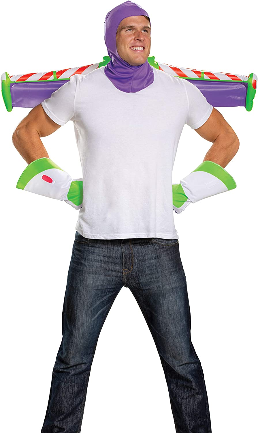 Disguise 198458 Toy Story- Buzz Lightyear Adult Costume Kit ...