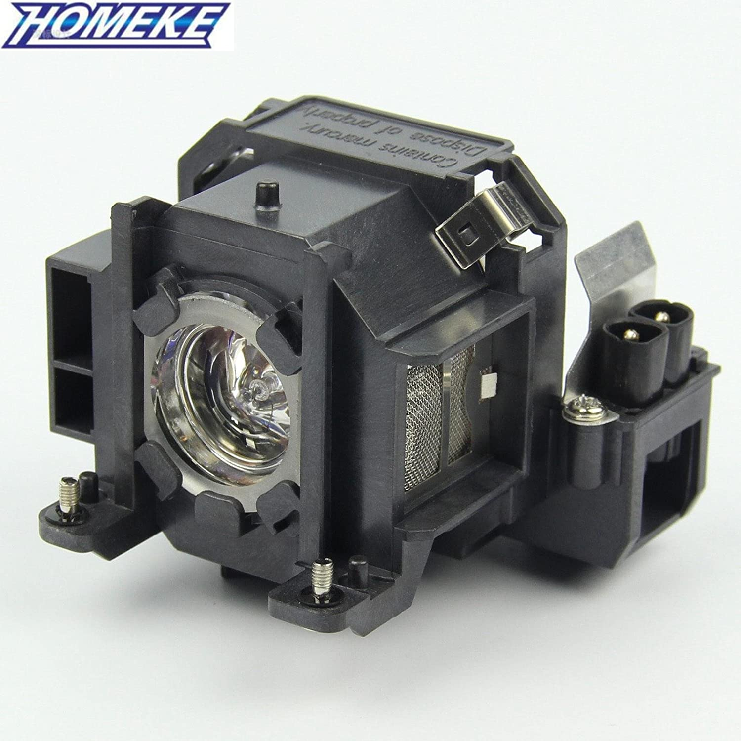 Homeke ELPLP38 original projector bulb for Epson EMP-1700//1705//1707//1710//1715//1717 with housing