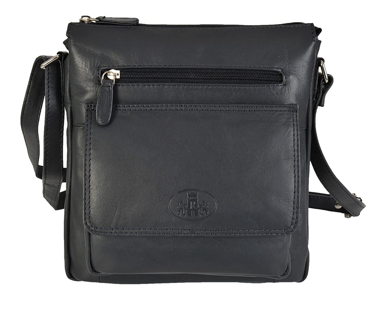 dbfdfa1d1014 Rowallan Leather Crossbody Bag In Various Colours 31-9767 (Navy)   Amazon.co.uk  Shoes   Bags