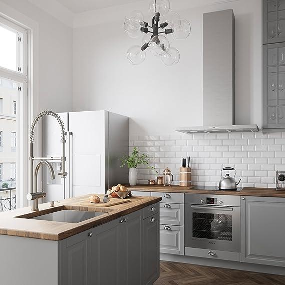 Vigo Dresden pull-down Spray grifo de la cocina: Amazon.es: Bricolaje y herramientas
