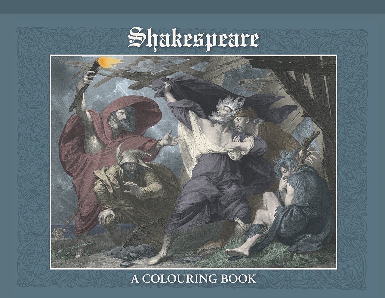Shakespeare: A Colouring Book