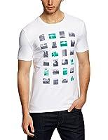 ESPRIT Collection Herren T-Shirt Slim Fit 033EO2K003