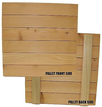 Wood Block Crafts - Rustic Wood Pallet 13 75