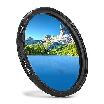 CELLONIC® Filtro Polarización CPL Compatible con Canon EF 50mm 1 ...