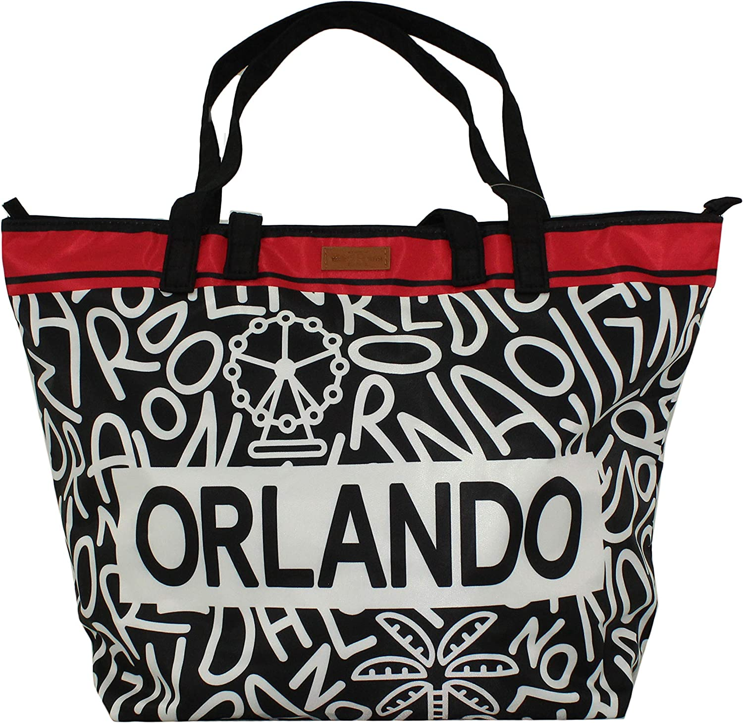 Robin Ruth Orlando Balagan Collection Double Handle City Bag in Black