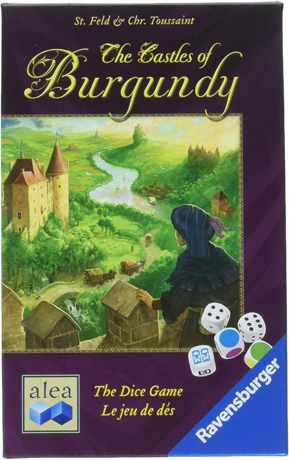 Ravensburger The Castles of Burgundy for Ages 10 & Up - Strategy Dice Game of Decision-Making & Territory Building