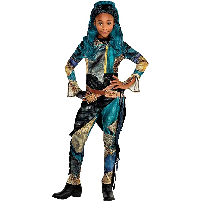 Party City Uma Halloween Costume for Girls, Descendants 3, Includes  Accessories