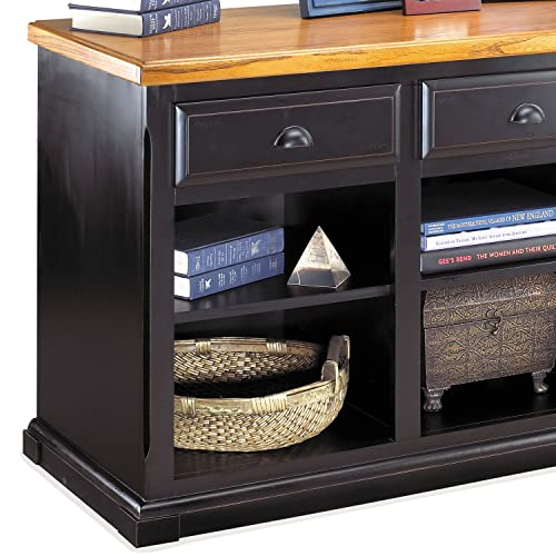 Martin Furniture SO573 Martin Southampton 3-Drawer Storage Console – Fully Assembled
