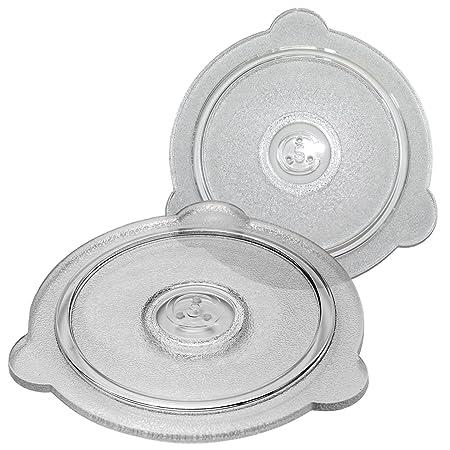 Tapa de cristal de microondas con ventilación segura Cuchina ...