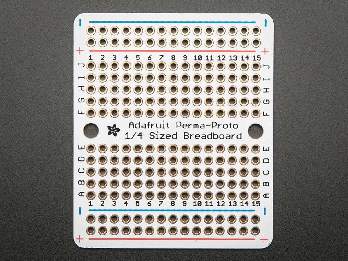 Adafruit PCBs & Breadboards Perma-Proto Quarter Breadboard P