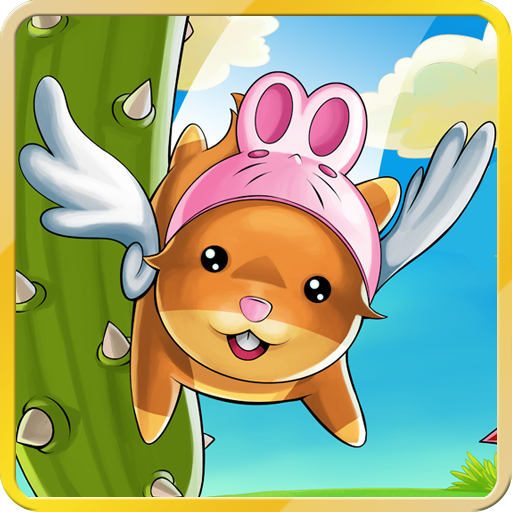 Flappy Angel Hamster