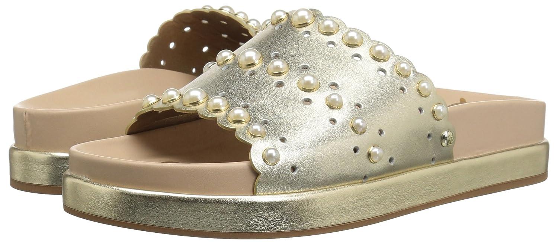 Sam Edelman Women's 9.5 Sera Slide Sandal B078HPBLXL 9.5 Women's B(M) US|Jute Metallic Leather a43b50