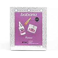 Babaria Pack Facial Retinol Compuesto por 1 Serum Retinol 30Ml, 1 Crema Facial Retinol 50Ml y 1 Ampolla Flash Facial…