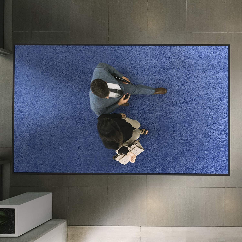 Etm Hochwertige Fußmatte   bewährte bewährte bewährte Eingangsmatte in Gewerbe & Haushalt   Schmutzfangmatte mit Top-Reinigungswirkung   Sauberlaufmatte waschbar & Rutschfest   Vielen Größen (120x300 cm, Lila) B07Q2Y2932 Fumatten d1d557