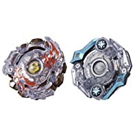 Hasbro E3882AS00 Beyblade Burst Evolution Dual Pack Surtr S2 and Odax O2 Game