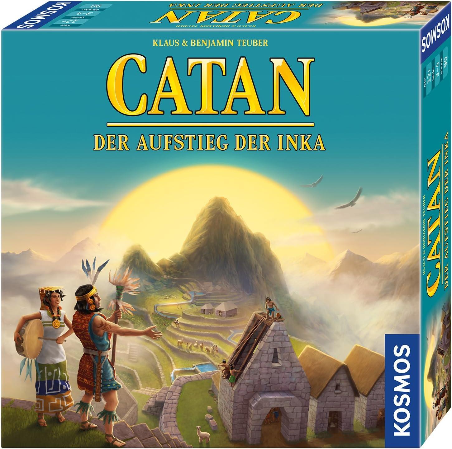 CATAN - Der Aufstieg der Inka: Für 3 - 4 Spieler ab 12 Jahren: Teuber, Klaus, Teuber, Benjamin: Amazon.es: Juguetes y juegos