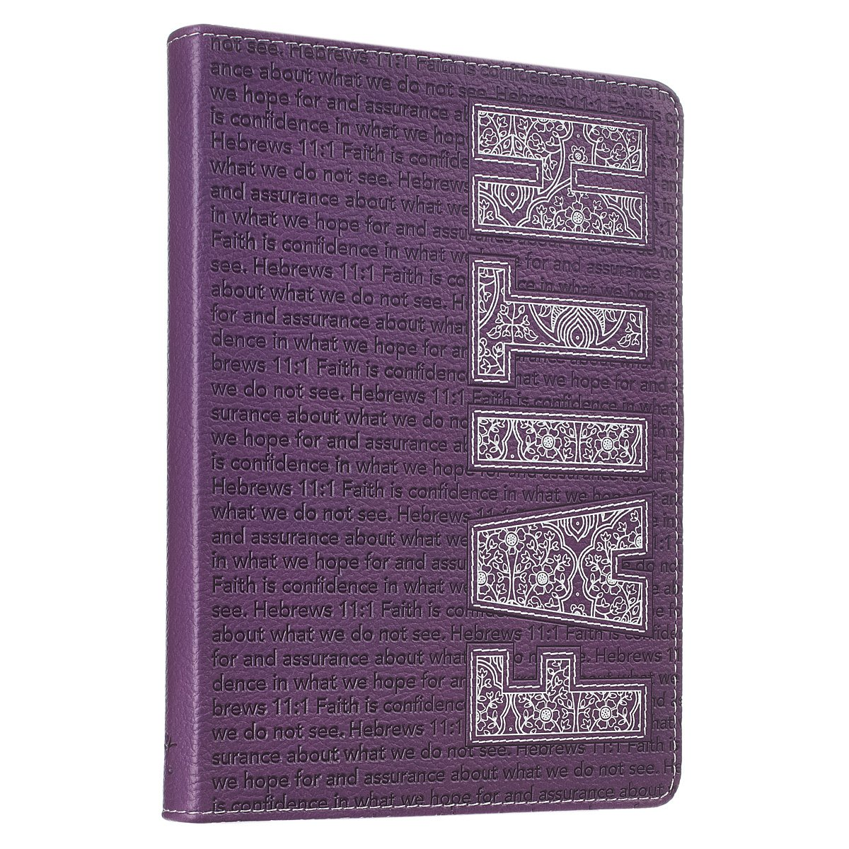 Purple Faith Flexcover Journal Hebrews