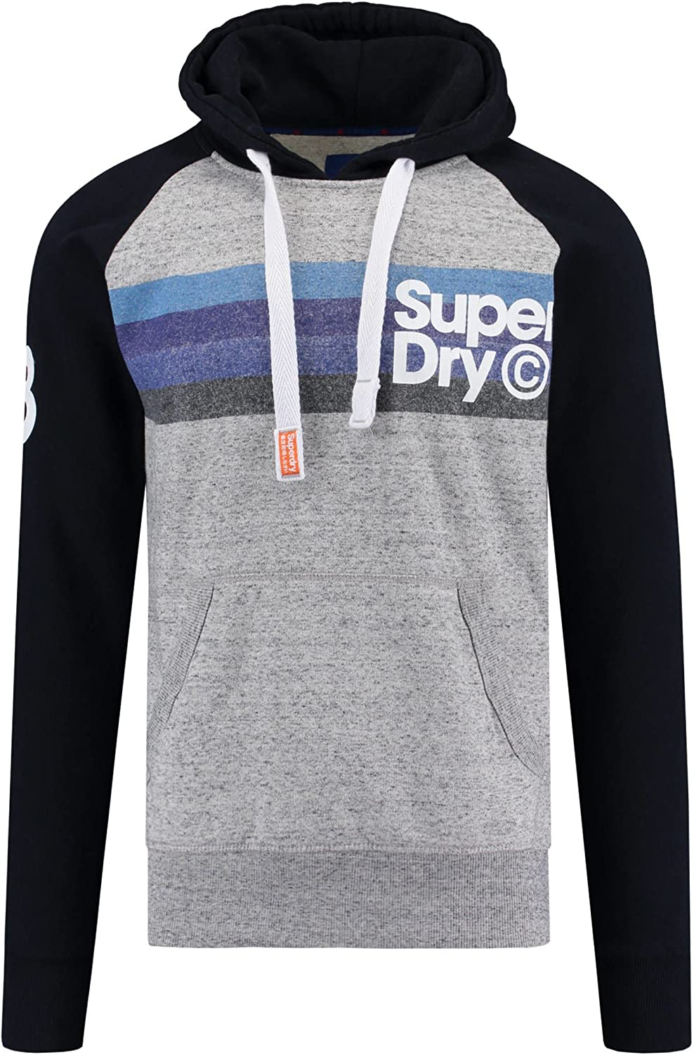 Tee shirt hommes, Sweat à capuche : Superdry Pull Cable Cape