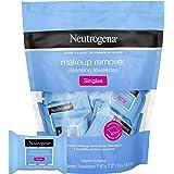 Neutrogena desmaquilhante toalhiinha, flanelas para remover sujeira, óleo, maquiagem 20 unidades