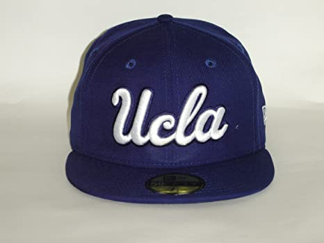 pretty nice c0186 c67b5 New Era 59Fifty NCAA UCLA Bruins Blue Fitted Cap NewEra Select Cap Size  7 1
