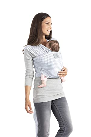 Manduca 211 - 02 - 19 - 002 portabebés para bebés, Soft Check Blue, 5,10 M X 0,60 m: Amazon.es: Juguetes y juegos