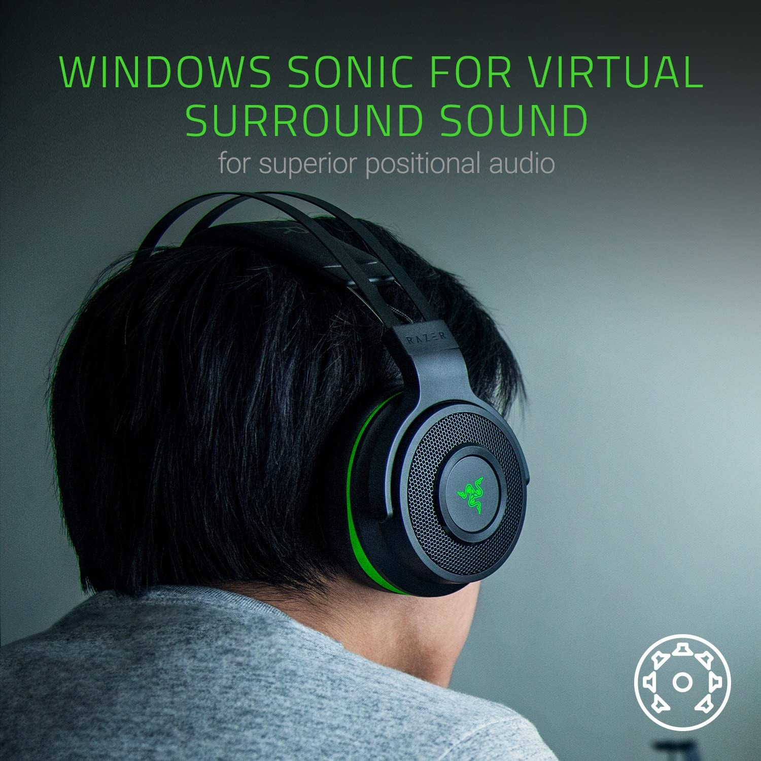 Razer Thresher for Xbox One: Windows Sonic Surround - Lag-Free Wireless  Connection - Retractable Digital Microphone - Gaming Headset Works with PC  &