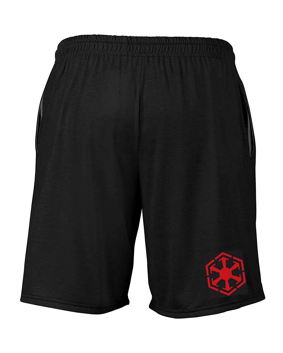 Wallys Custom Apparel Mens Limited Edition Sith Shorts Black Sizes Small 2XL