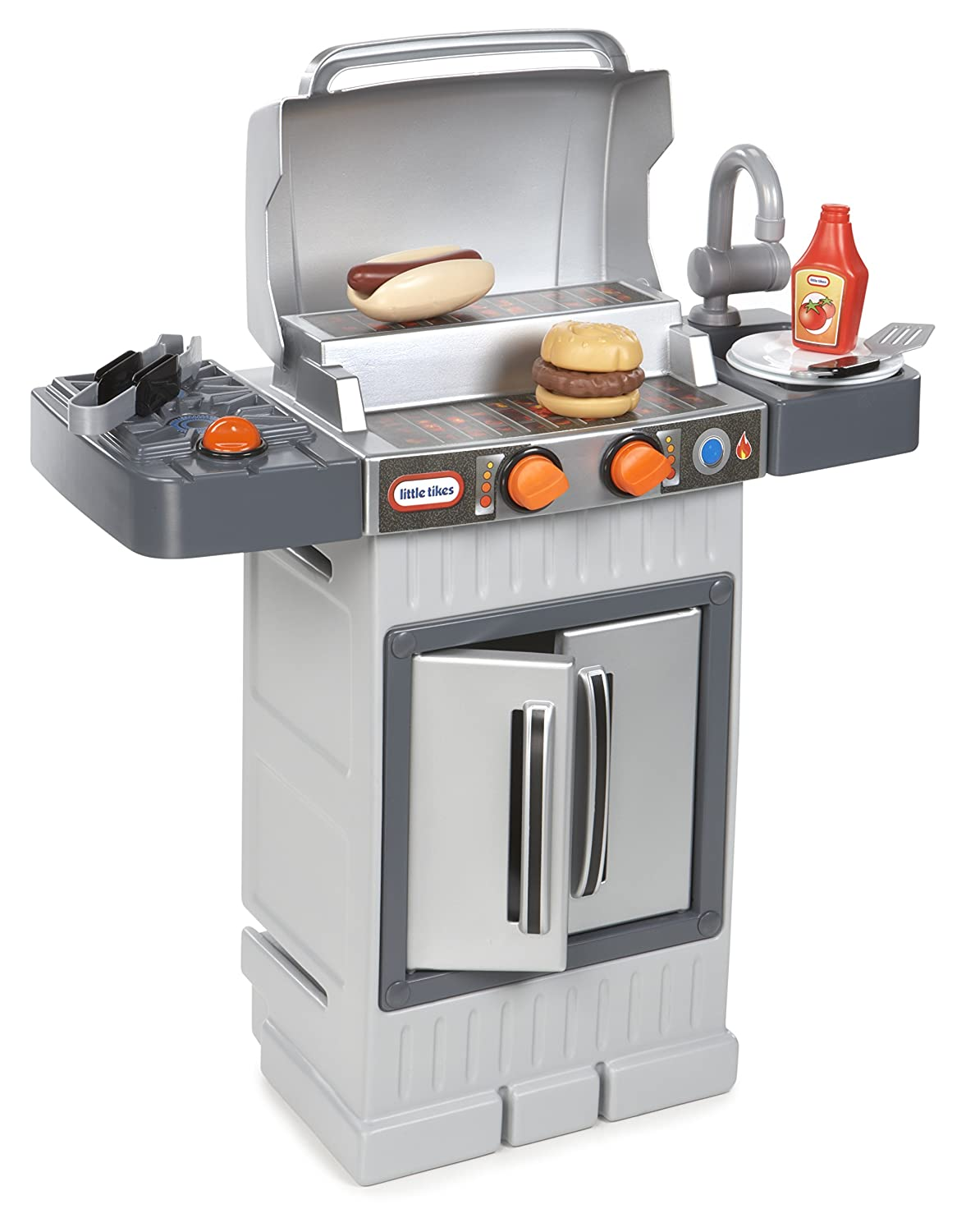 Amazon.com: Little Tikes Cook \'n Grow BBQ Grill: Toys & Games