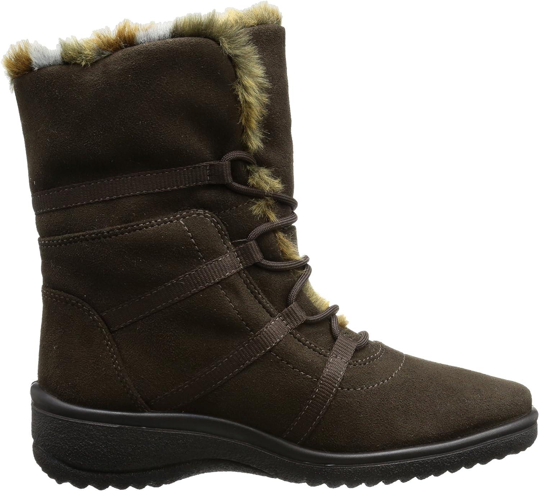 ara München-St-Gor-Tex, Women's Snow Boots Brown Caffee Nature 08