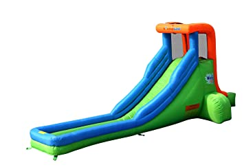 Amazon Com Bounceland Single Inflatable Water Slide Toys Games