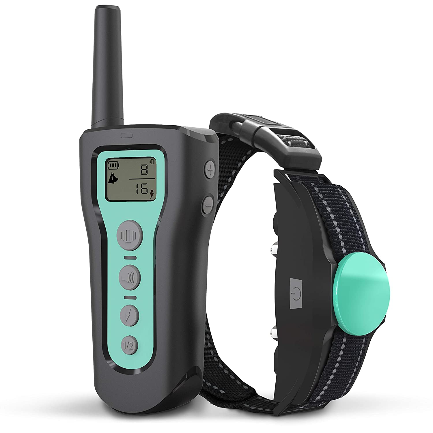 BESTHING Dog Training Collar – Dog Shock Collar 3 Training Modes, Beep, Vibration and Shock, Waterproof, Up to 1000Ft Remote Range, 1 100 Levels Dog Training Set