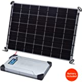 Voltaic Systems 17 Watt Rapid Solar Panel Charger for Laptops (Including MacBooks with an Adapter) | Includes a Battery…
