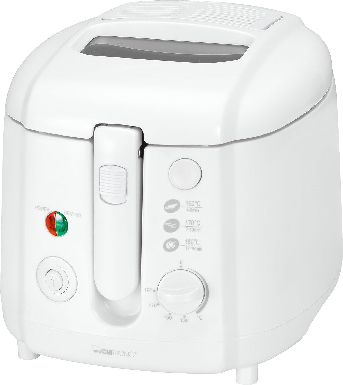 Clatronic FR Freidora capacidad litros W color blanco