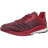 Adidas Originals - Zapatillas de Voleibol para Mujer, Blanco/Negro/Rojo (Power Red), 6.5 M US