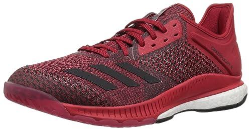 buy online 1a1bc b4c25 adidas Womens Crazyflight X 2 Volleyball Shoe, WhiteBlackPower red, 10