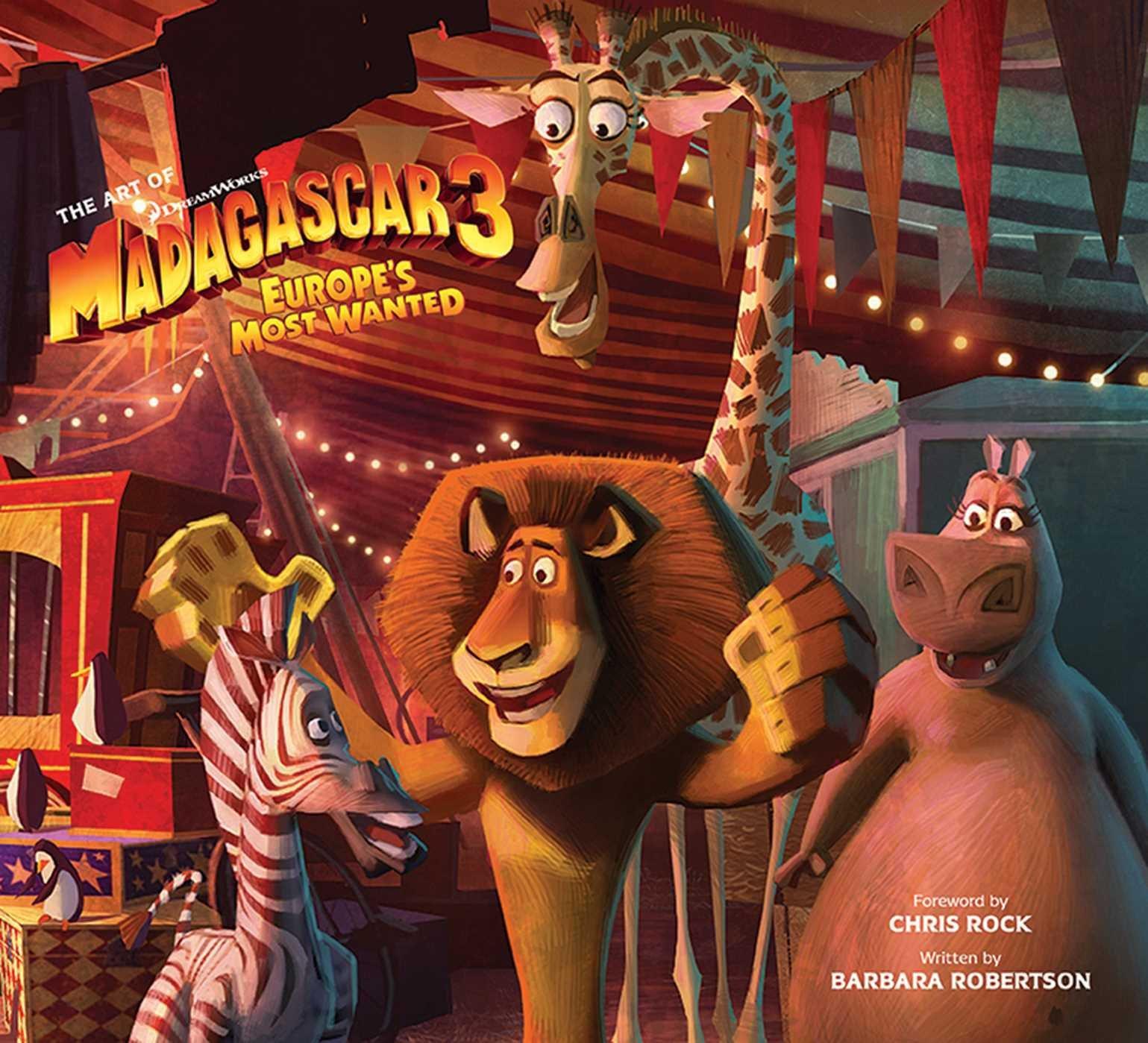The Art of DreamWorks Madagascar 3 pdf epub