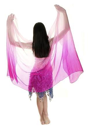 Velo para danza del vientre de seda Turkish Emporium, mujer ...