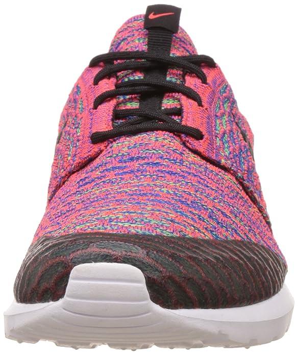 low priced 9f88b 9146c Nike Men s Roshe NM Flyknit SE Running Shoe Brght Crmsn Blk Grn Strk Gm Ry  12 B(M) US   10.5 D(M) US Men  Buy Online at Low Prices in India - Amazon.in
