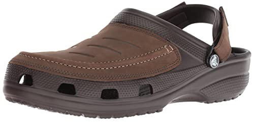 8f4a61186b59e crocs Men s Yukon Vista Clog Black Black 6 UK  Buy Online at Low ...