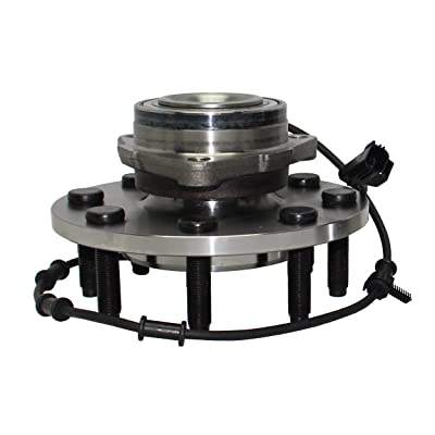Detroit Axle 515089 2WD Front Wheel Hub and Bearing Assembly for 2003 2004 2005 Ram 2500 Ram 3500 2x4 2WD 8 Lug W/ABS: Automotive