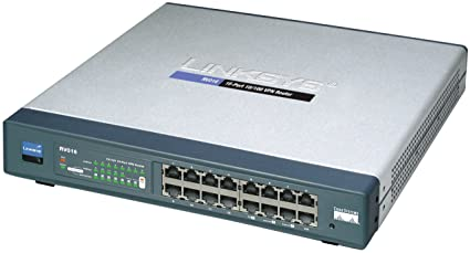 Cisco RV016 16-port 10/100 VPN Router - Multi WAN