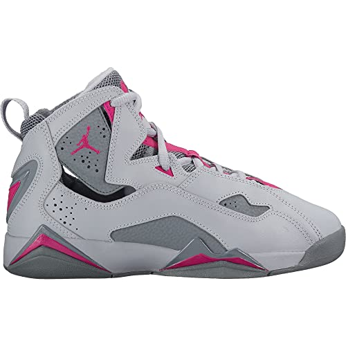 202a2a264832a5 ireland air jordan true flight preschool f4bb5 1bdce  low cost nike 342774  018 jordan kid true flight gg wolf grey pink basketball shoe 7ea05