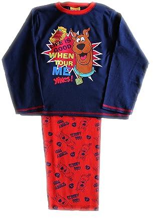 3430d63a88 Lovely Scooby Doo Long Pyjamas 3 4 5 6 7 Years (5-6 Years) Lifes Good!   Amazon.co.uk  Clothing